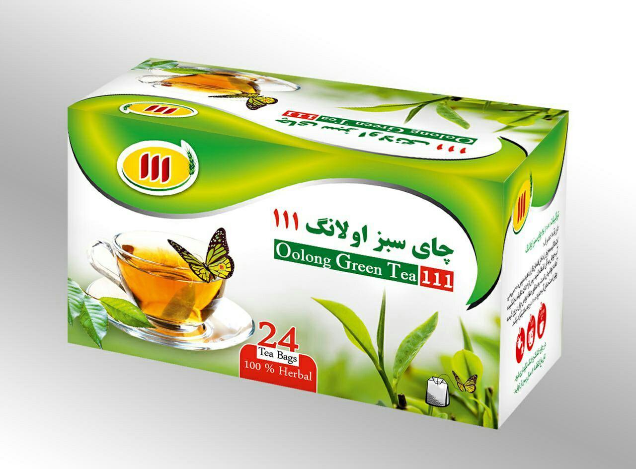 چای سبز اولانگ 111