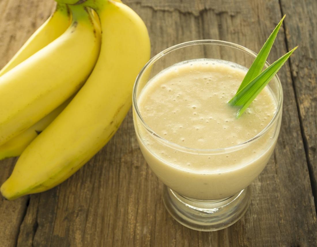 لاغری با مصرف شیر و موز
